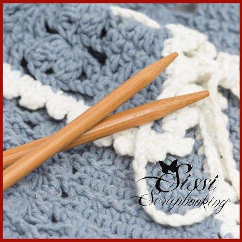 Lot de 18 paires d/'aiguilles tricoter bambou véritable LAINE TRICOT COUTURE 35CM