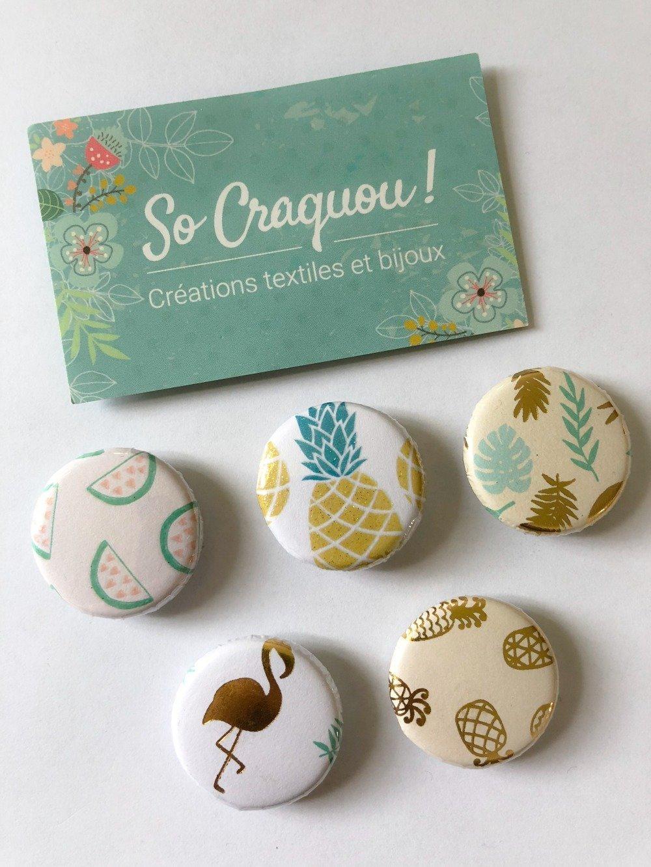 5 badges aux motifs tendance pour épingler partout !