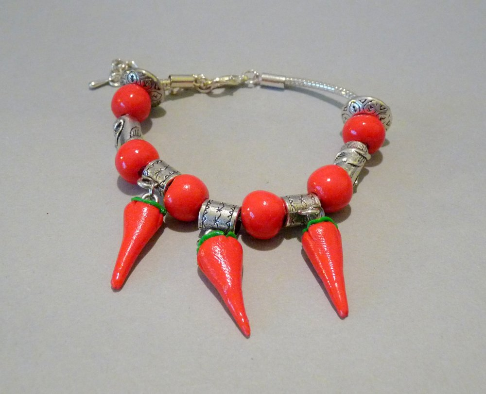 Pays Basque - Bracelet Piments Basque