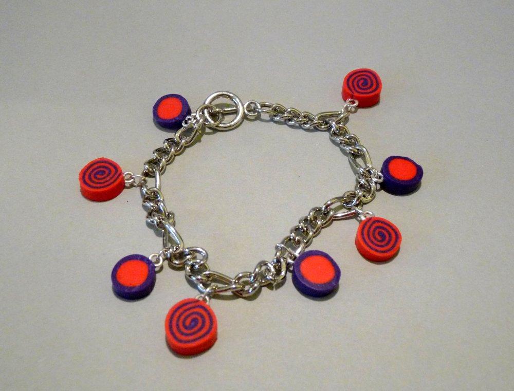 Abstrait - Bracelet Carina Spirales