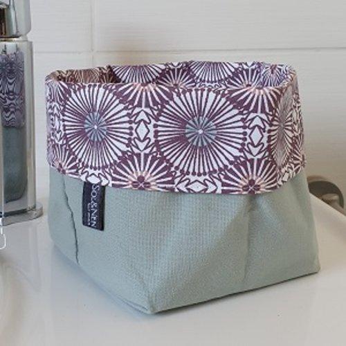 Panier de rangement réversible bissau violet