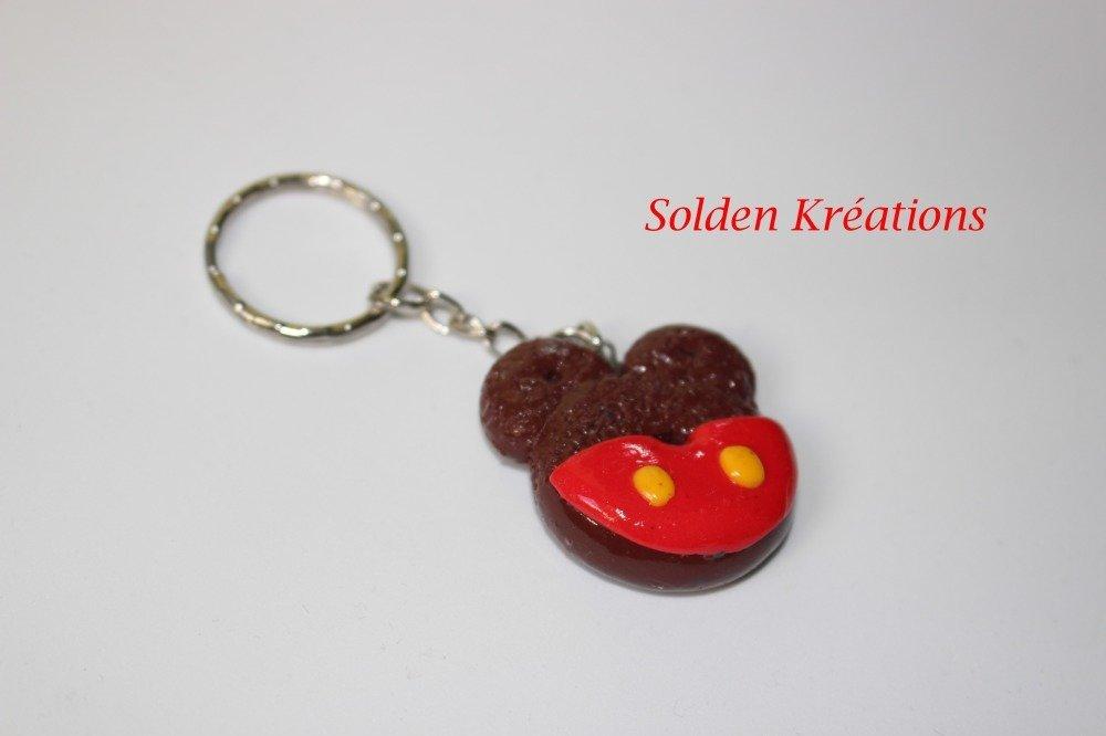 Porte clef Donut Mickey