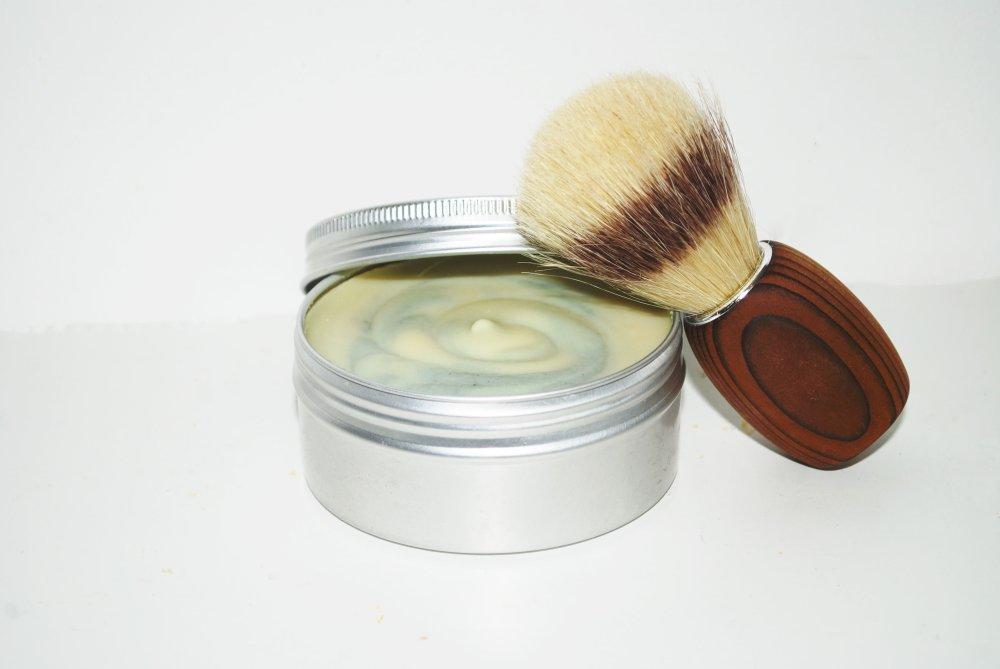 Ensemble de Rasage naturel - Peaux sensibles- Savon de rasage