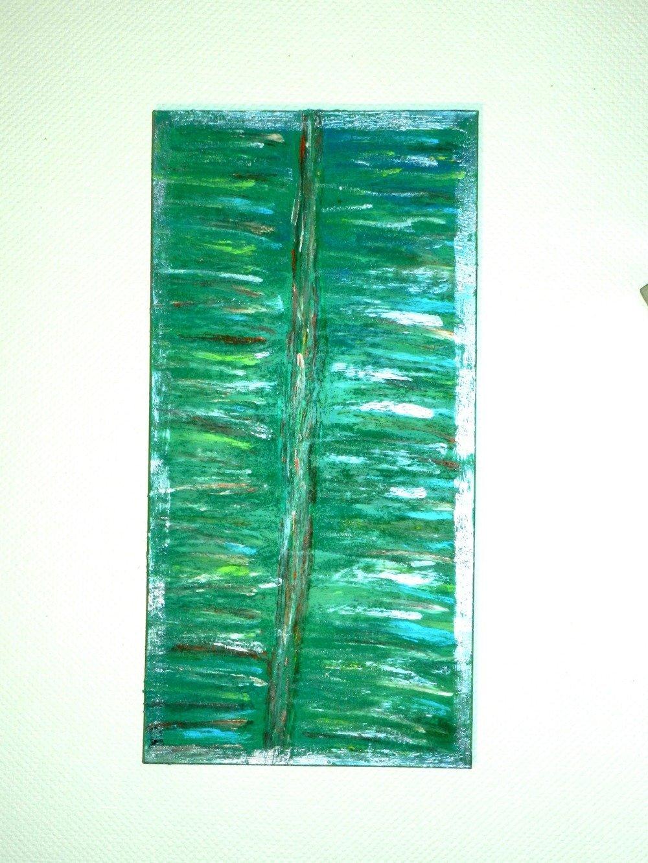 """Tableau """" L'infini """", toile sur châssis 100 cm x 50 cm"""
