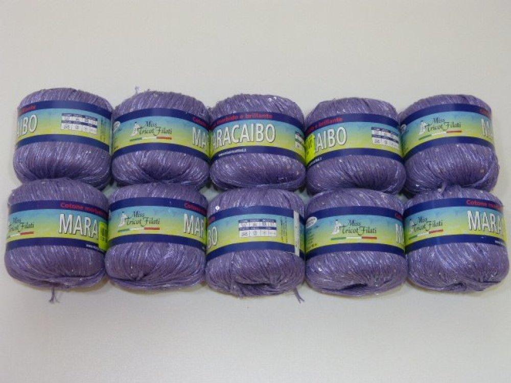 10 pelotes de coton MARACAIBO