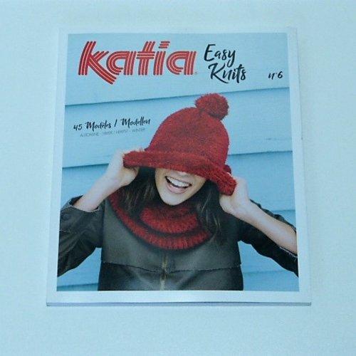 Catalogue tricot katia  easy knits n° 6
