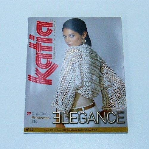 Catalogue tricot katia  elegance n ° 70