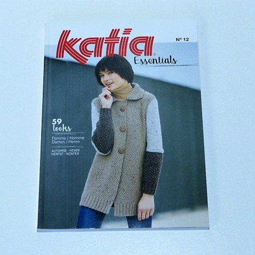 Catalogue tricot katia  essentials n° 12