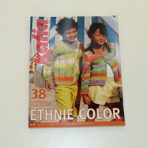 Catalogue tricot katia enfants , n°53, ethnie color