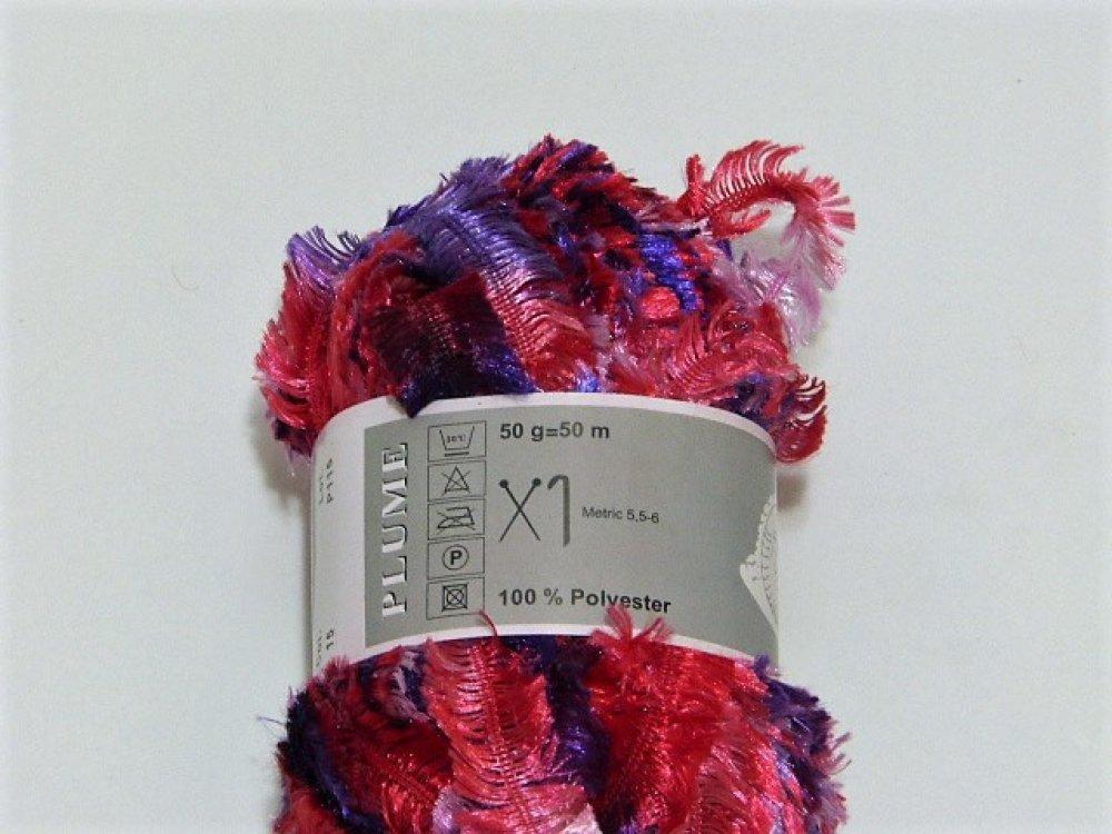 5 Pelotes de laine fantaisie PLUME ( col 15 )