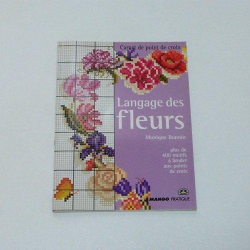 Livre broderie : le langage des fleurs