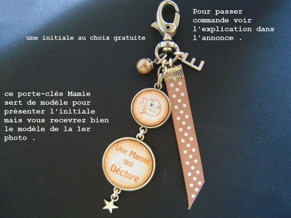 Cadeau pour mamie,mamie je t'aime,porte clés,couleur rose,fête grand-mère,P33