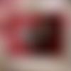 Barrette peigne libellule rouge arbre nature ethnique vintage steampunk gothique médiéval cosplay