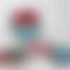 Lingettes démaquillantes lavables dans un panier assorti - lot de 9  - by stella fraisse