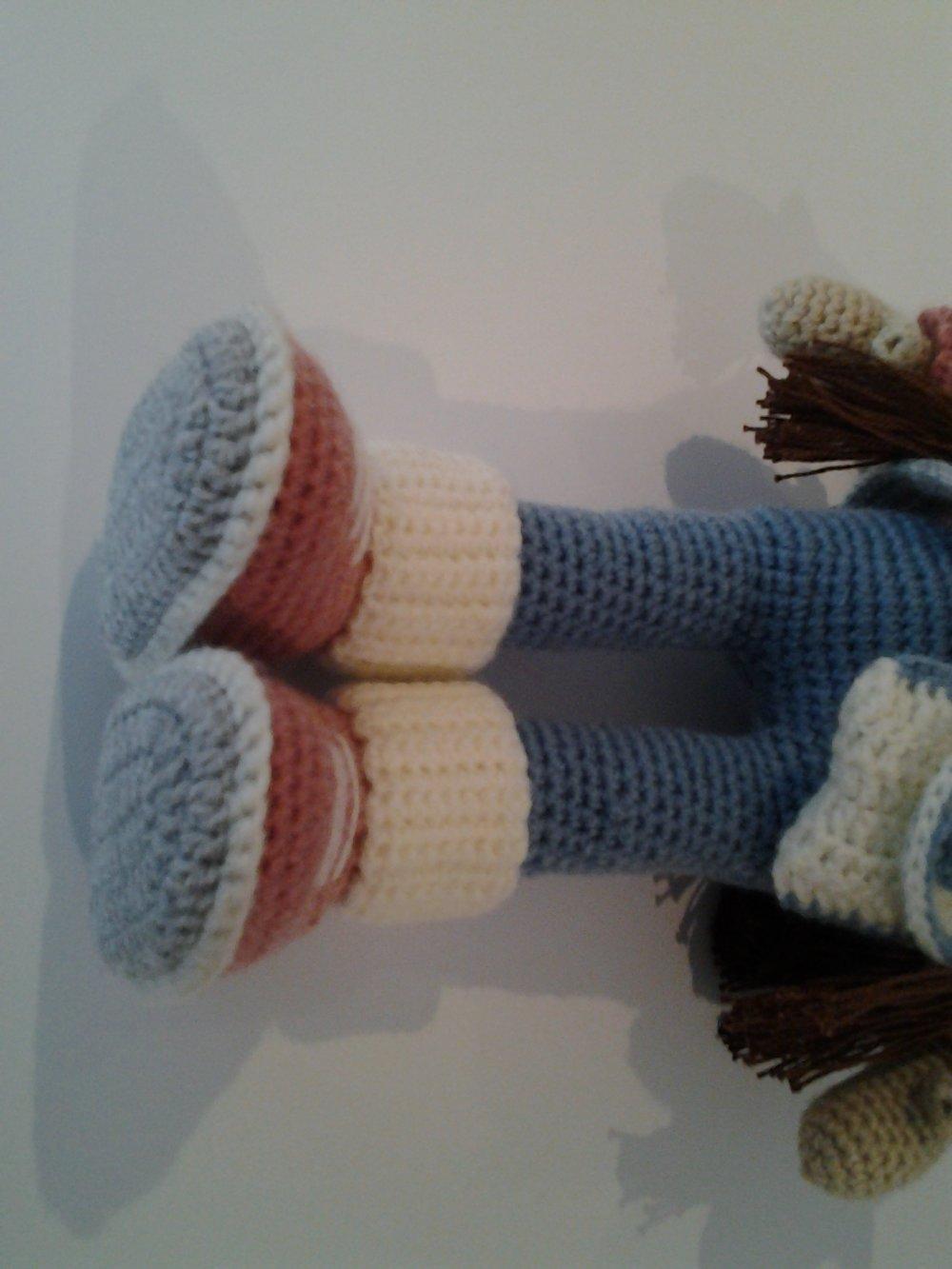 Poupée, poupée au crochet,amigurimi,décoration,  chambre d'enfant,,peluche,animaux au crochet,dolls,jouet,cadeaux enfant