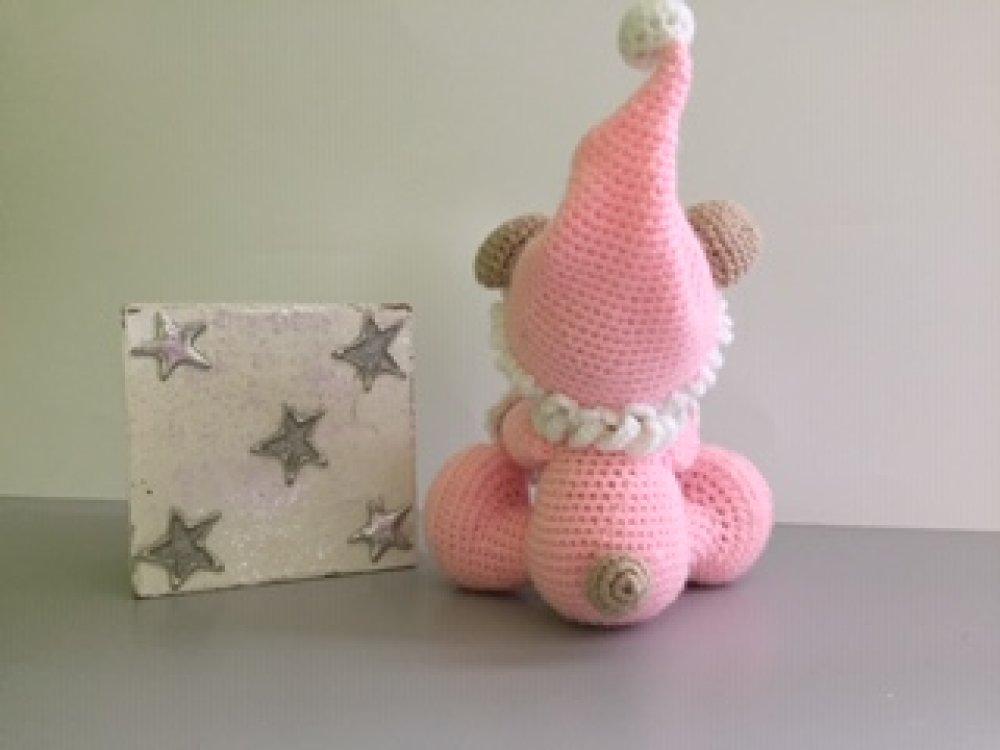 annimaux au crochet ,peluche,amigurimi,décoration chambre d'enfant,cadeaux de naissance,bébé, ours de collection, ours ancien