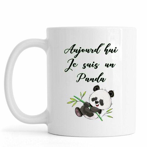 Incassable Mug PANDA V1 personnalisé avec prénom tasse