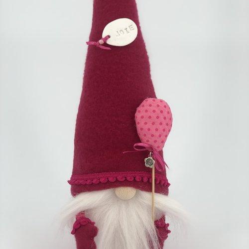 """Gnome collection """"joie"""" - ballon petits pois - articles de décoration"""