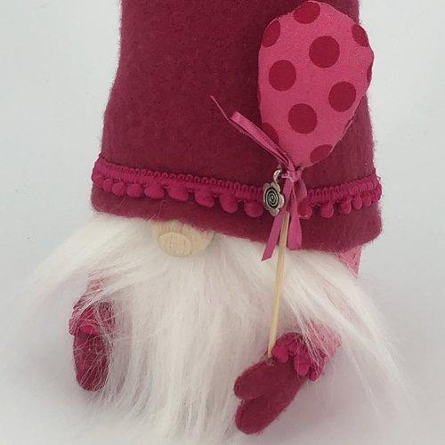 """Gnome collection """"joie"""" - ballon gros pois - articles de décoration"""