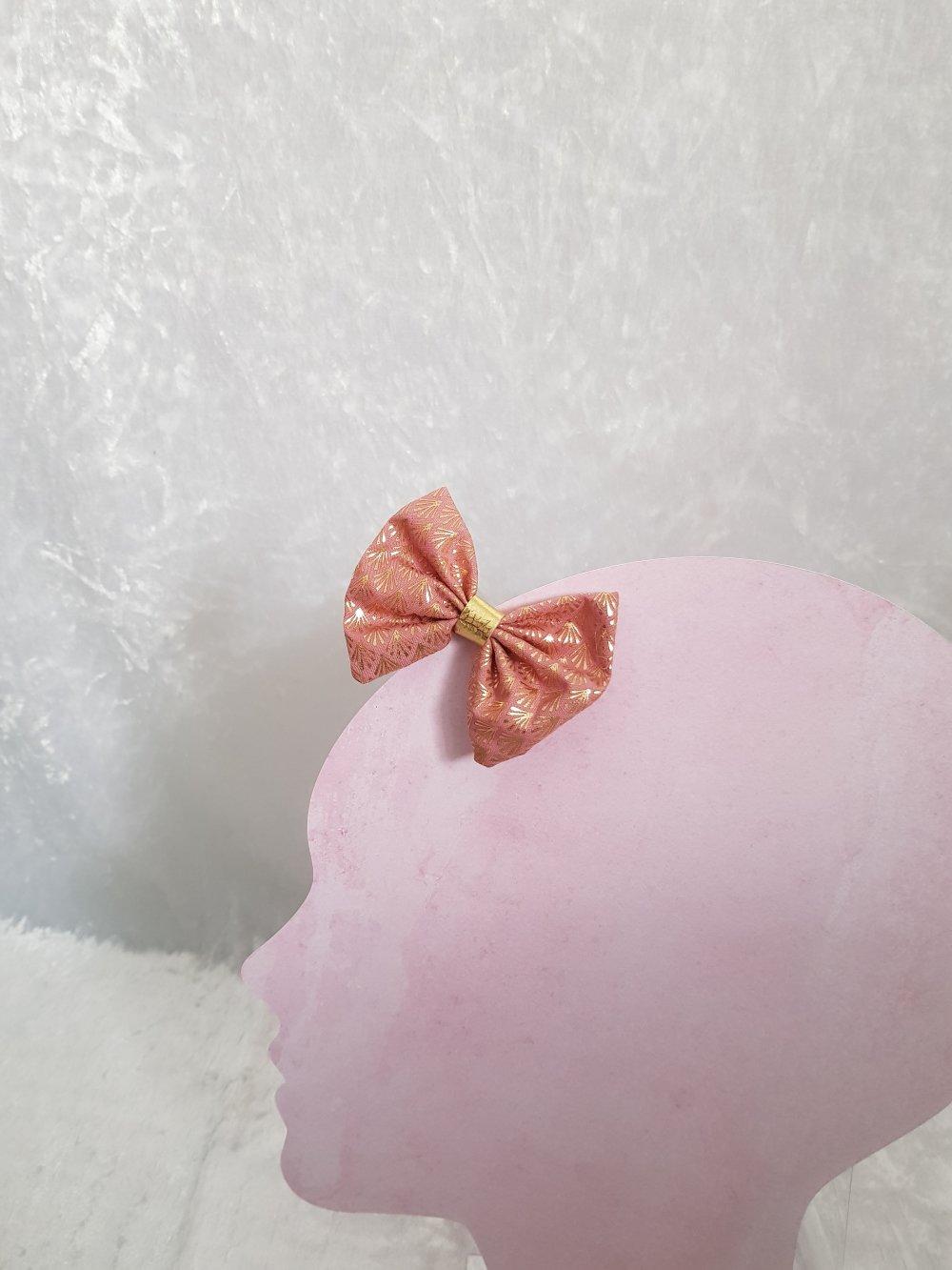 Pince noeud à chéveux en tissu