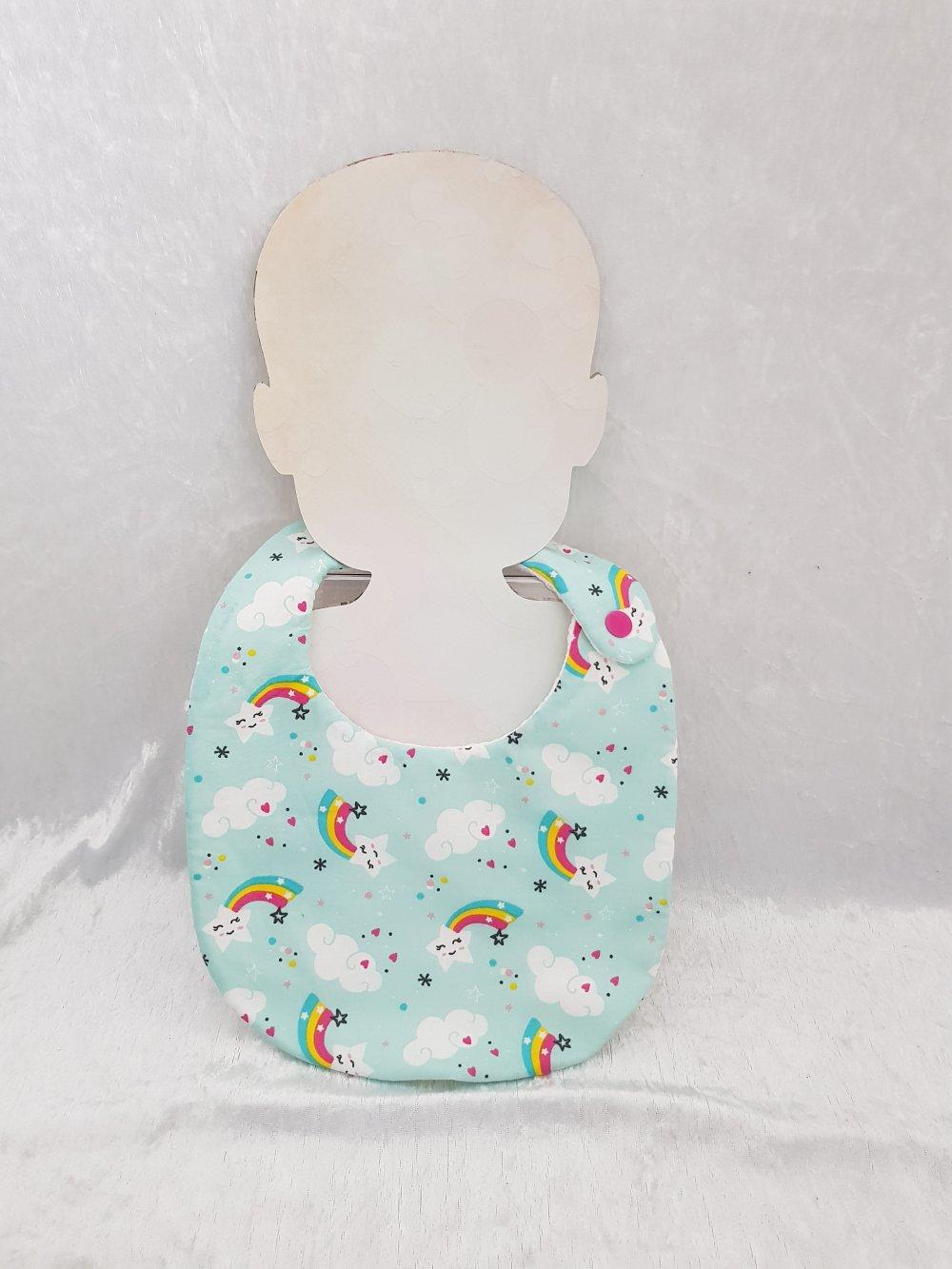 Bavoir bébé en tissu 0-18 mois