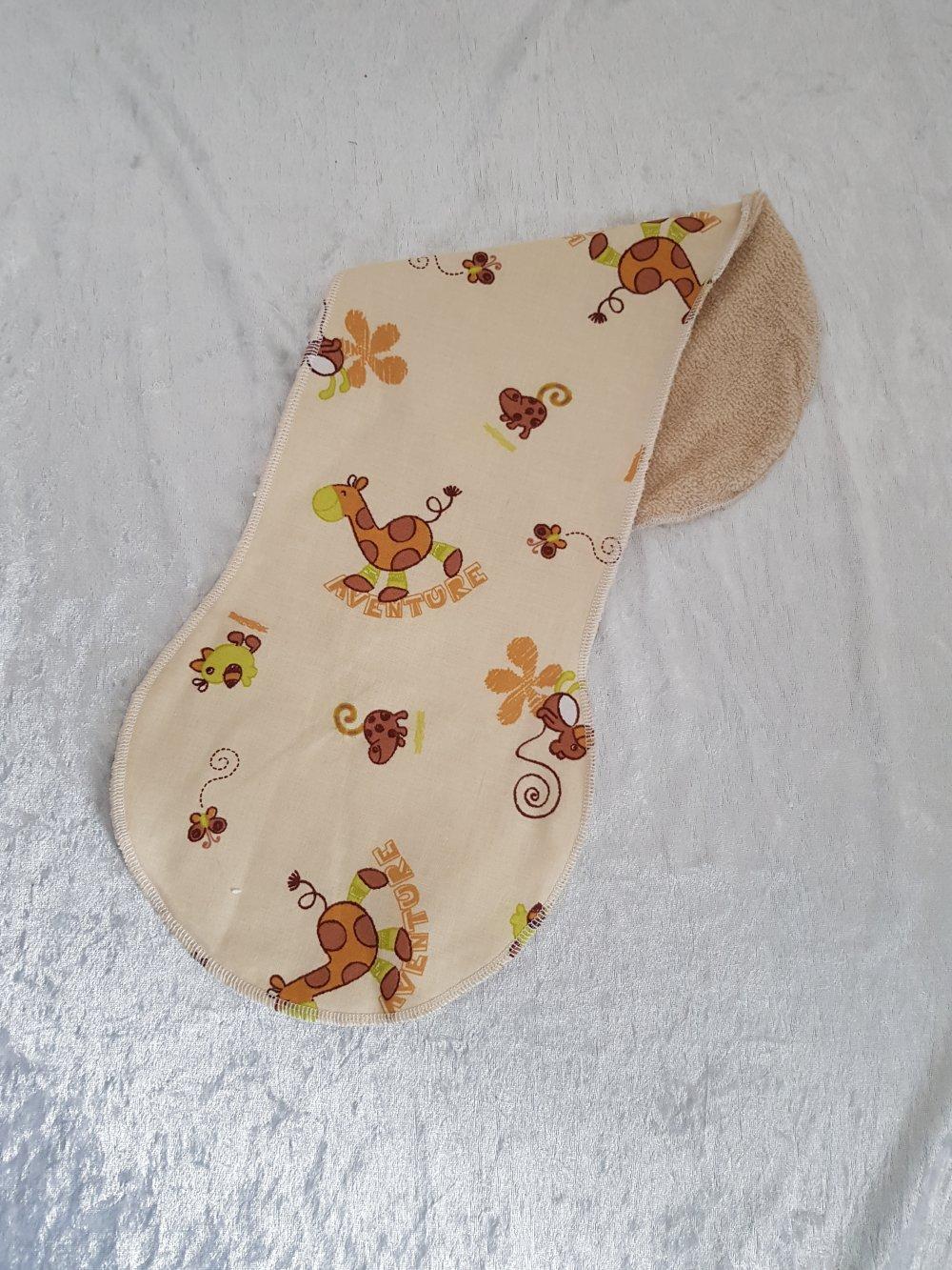 Protège épaule en tissu coton et éponge