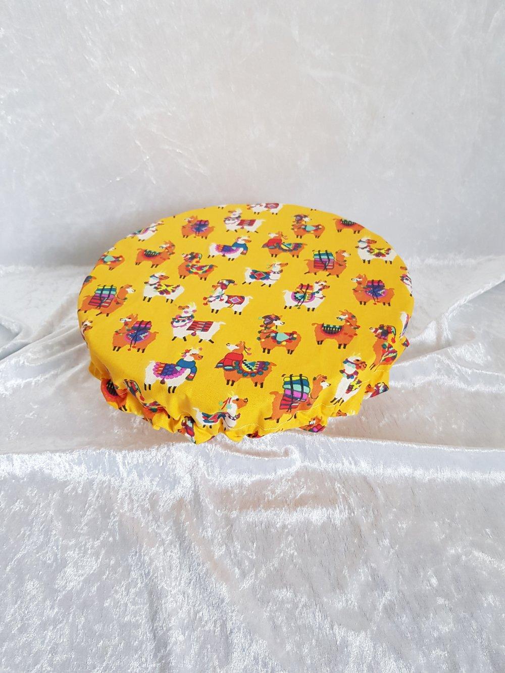 Charlotte couvre plat en tissu