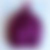 Bonnet lutin prune taille naissance