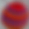 Bonnet enfant : rouge, rose, violet, orange
