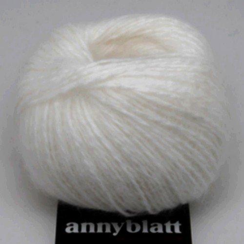 Lot 3 pelotes angora prestige anny blatt coloris blanc