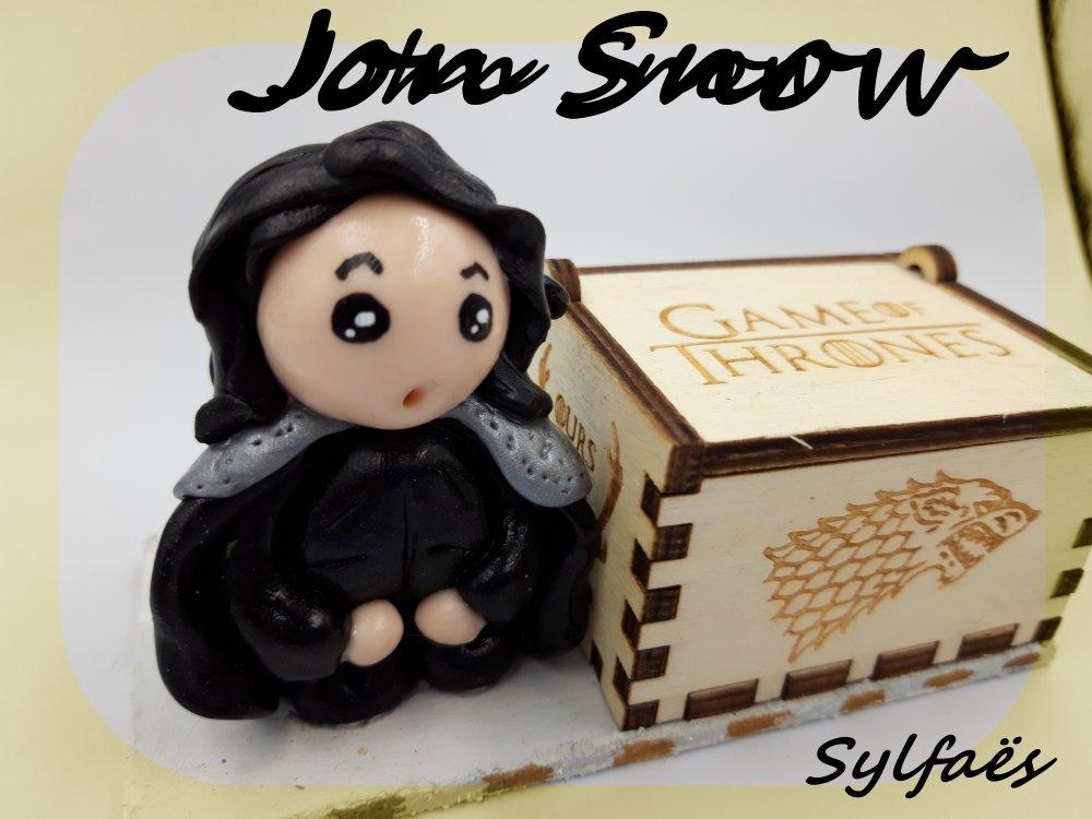Boite à musique Game of Thrones Jon Snow