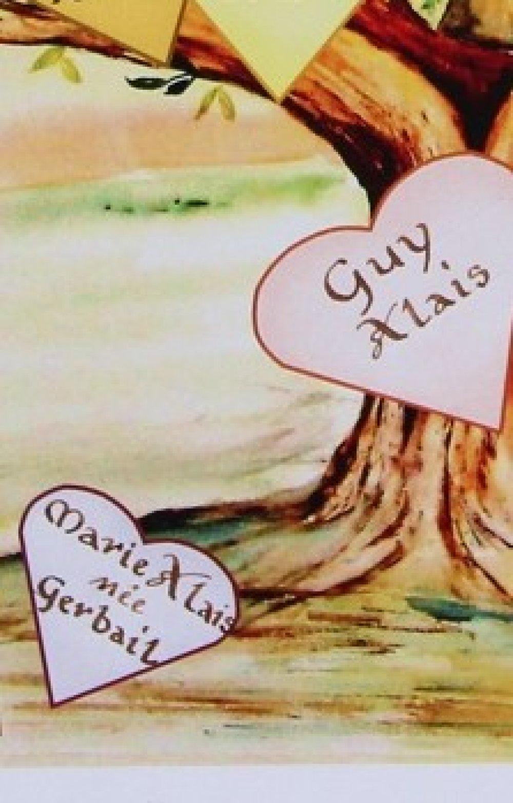 arbre généalogique N°1 calligraphié format A3