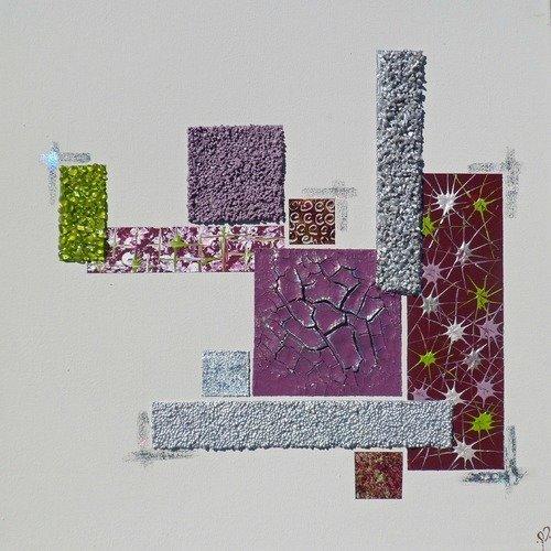 Tableaux abstraits et géométriques par marie vinouse - Un ...