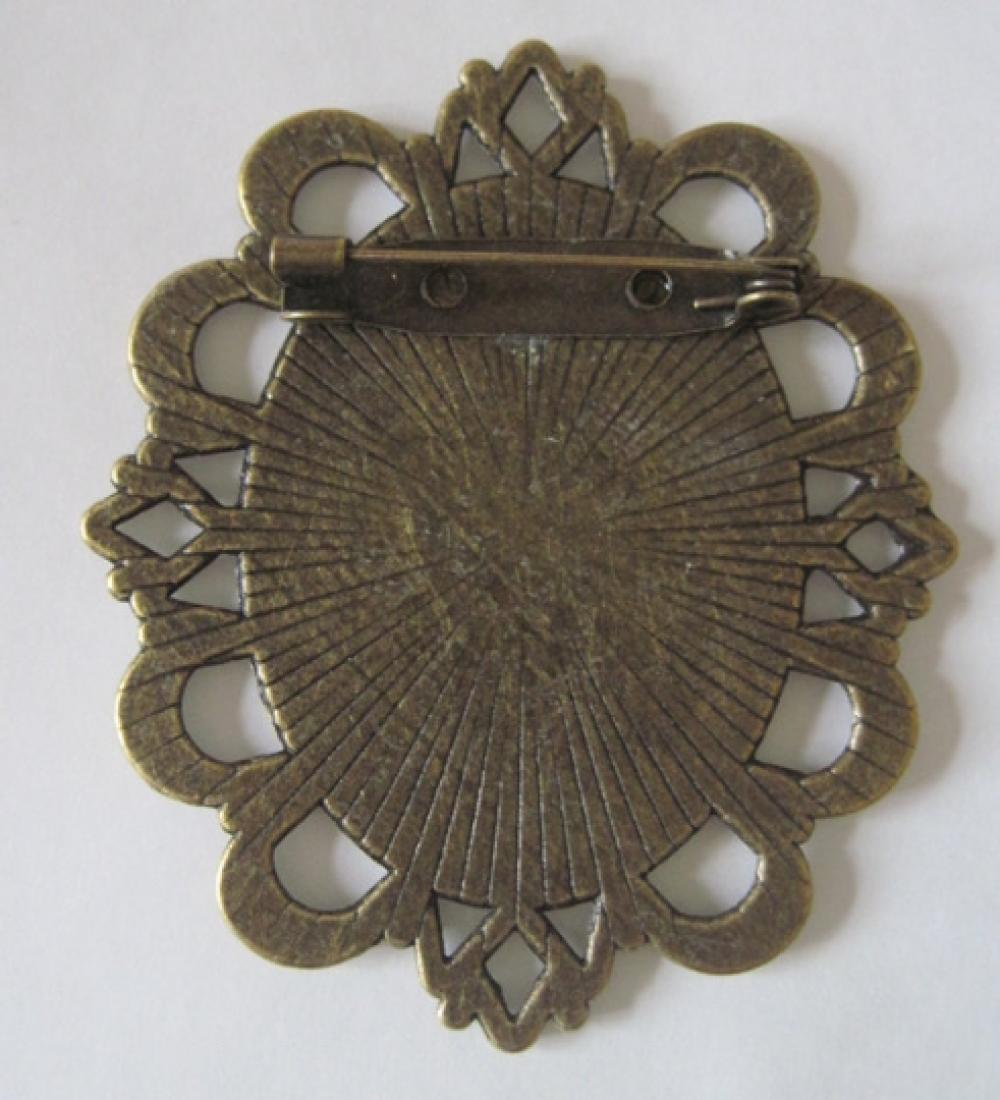 Broche retro vintage verre bébé Licorne fantasy kawaii fantastique rockabilly pin up gothique cheval fantasy magie gothic