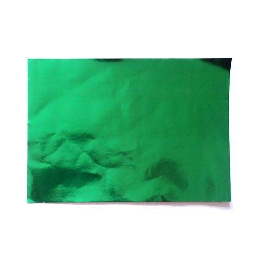 Feuille de papier effet miroir métallisé
