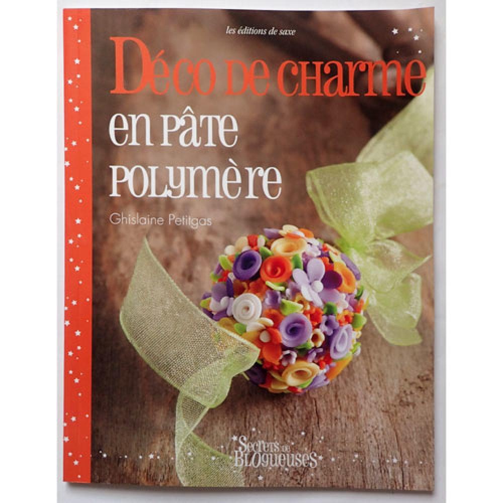Livre Déco de charme en pâte polymère