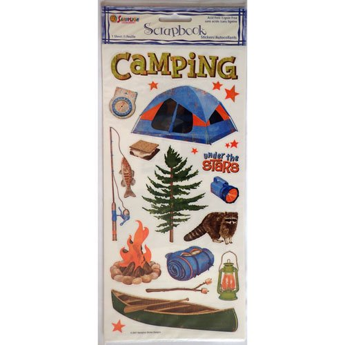 Stickers camping rivière