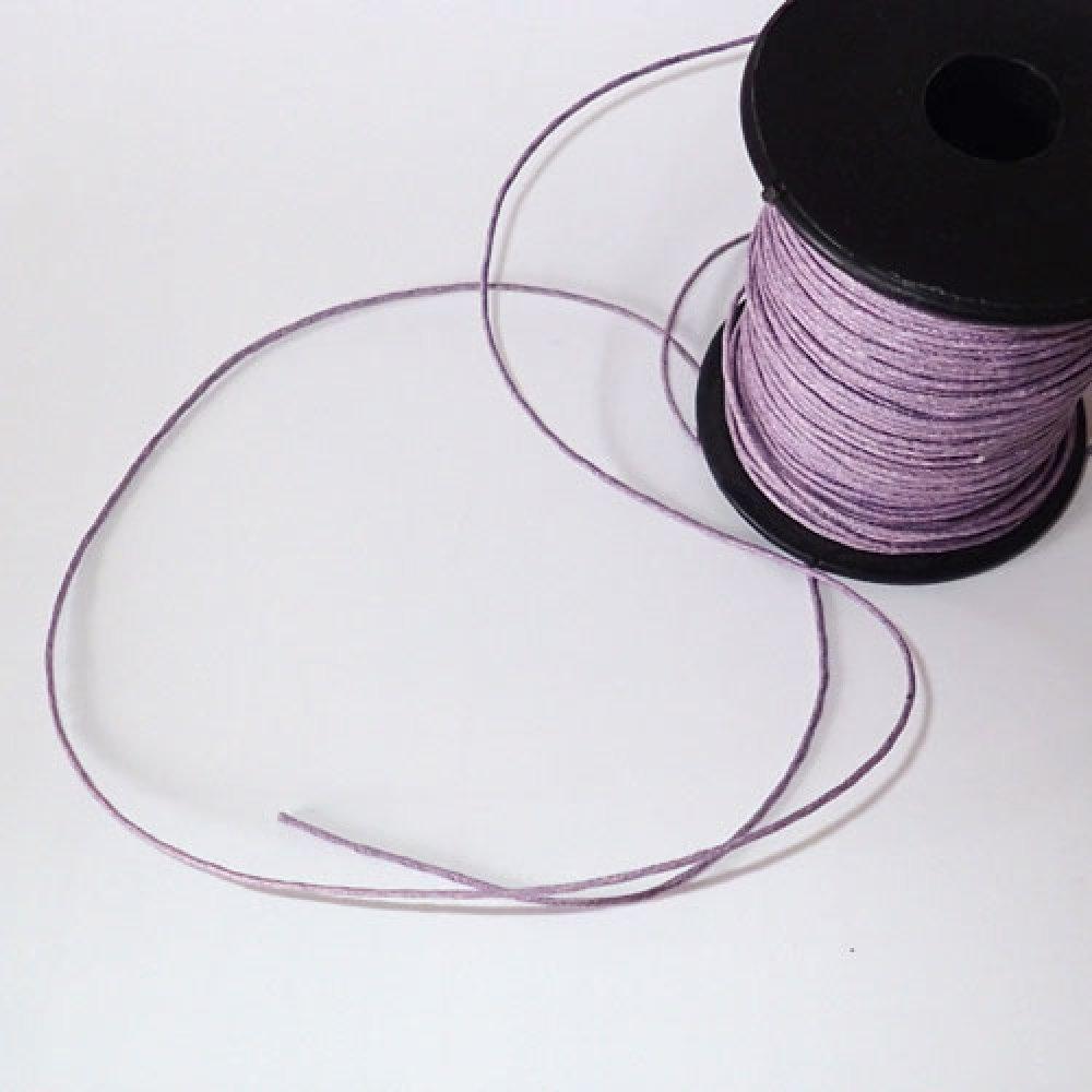 fil de coton violet 0,7 mm x 1m