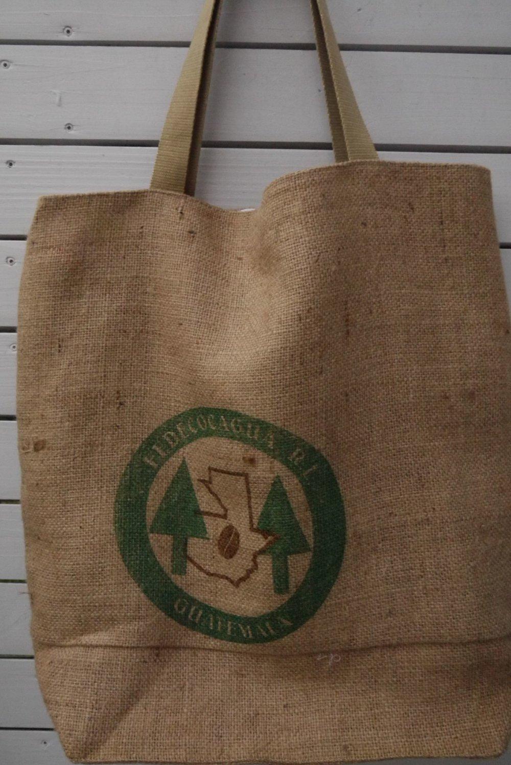 sac de plage XXL, sac familial grandes dimensions, toile de jute de sac à café