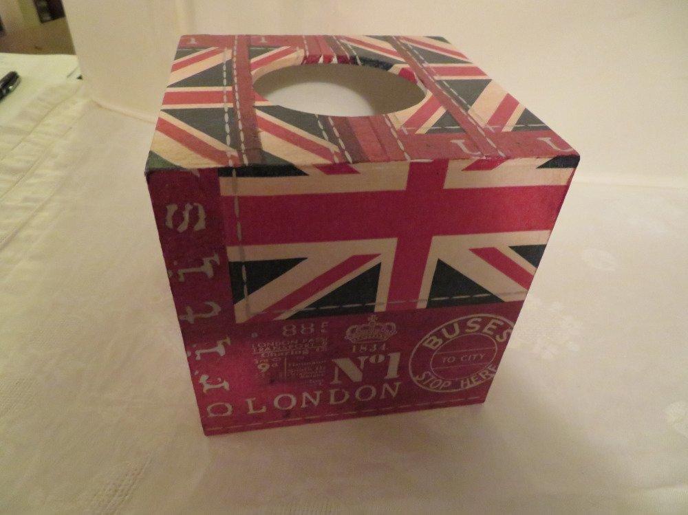 Boîte à mouchoirs London