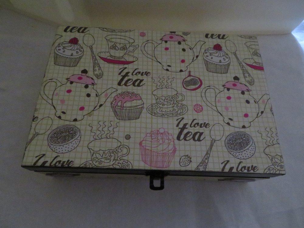 Boîte à thé I love tea