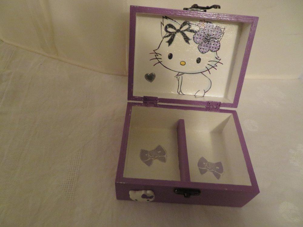Coffret à bijoux hello kitty