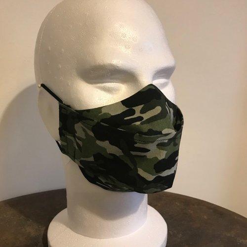 Masque tissu camouflage b