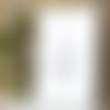 Affiche citation nino taurino  bleue a4 sans cadre