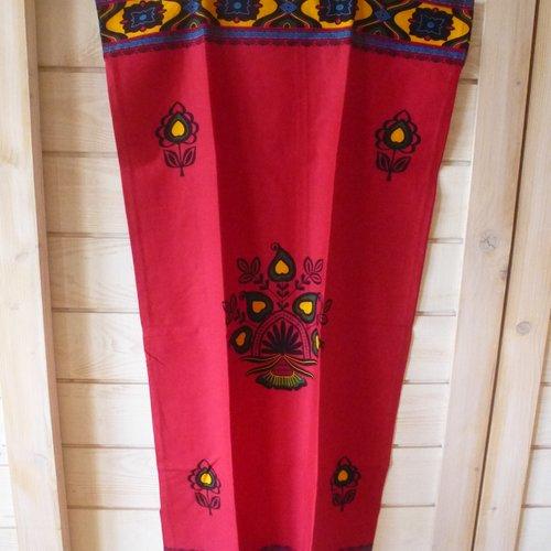 Robe tunique coton tissu africain wax ethnique taille 44/46 piece unique