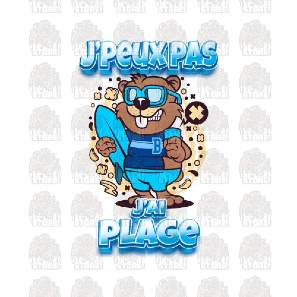 Tee-shirt J PEUX J AI PLAGE