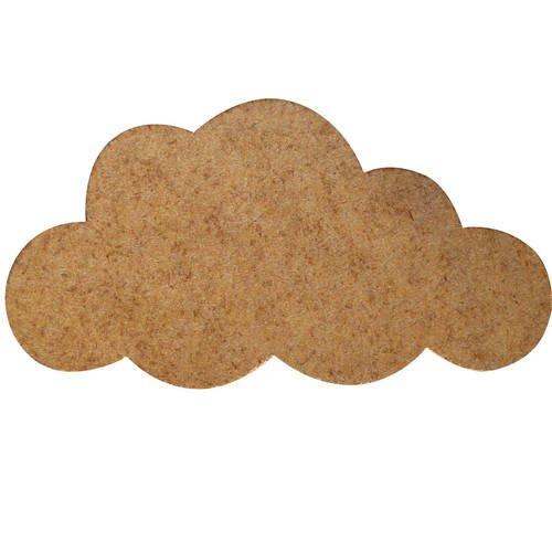 Grand nuage en bois - a peindre ou décorer