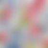 #007 serviette papier tulipe seringa - 1 face 16,5 x 16,5 cm