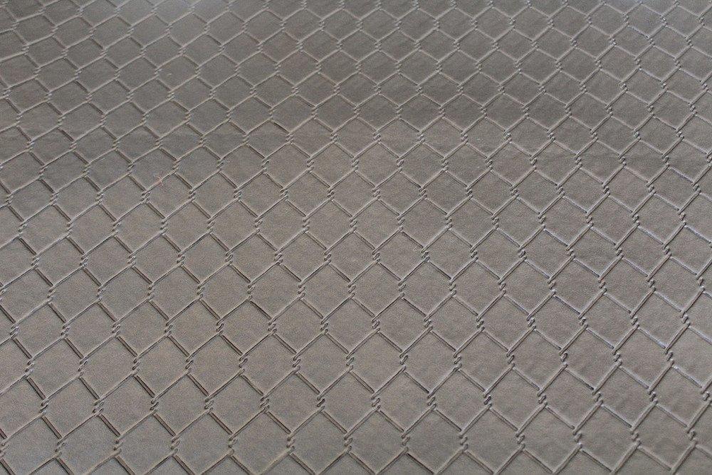 Simili cuir taupe 50x70cm
