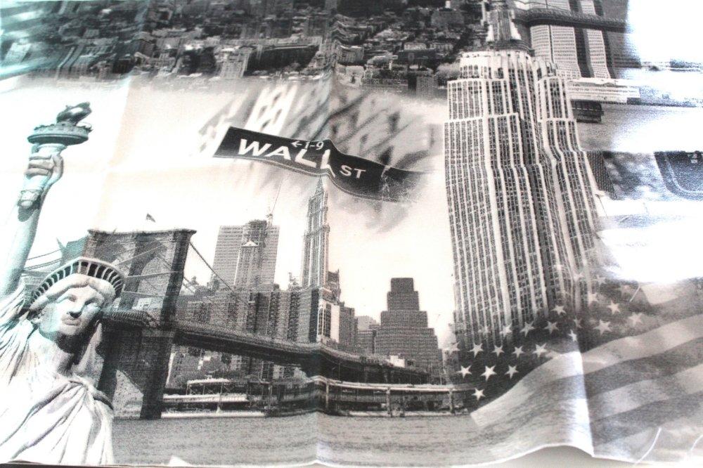 Coupon tissu ameublement New York 70x50 cm
